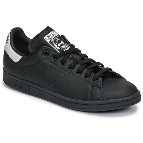 Čevlji  Nizke superge adidas Originals STAN SMITH Črna / Bela