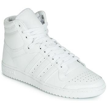 Čevlji  Moški Visoke superge adidas Originals TOP TEN HI Bela