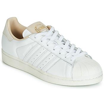 Čevlji  Nizke superge adidas Originals SUPERSTAR Bela / Bež