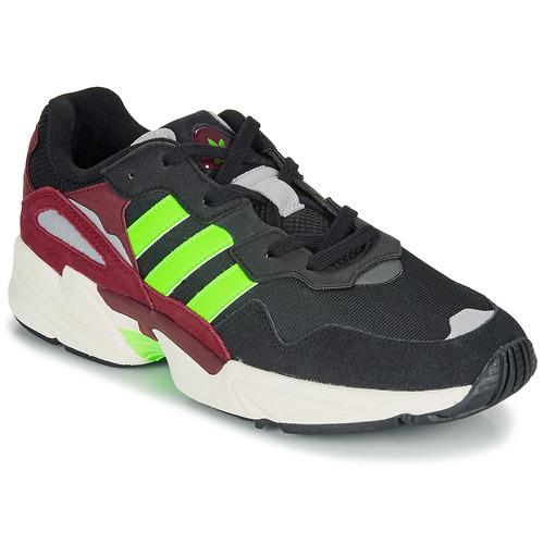 Čevlji  Moški Nizke superge adidas Originals YUNG-96 Črna / Zelena