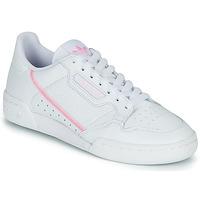 Čevlji  Ženske Nizke superge adidas Originals CONTINENTAL 80 W Bela / Rožnata