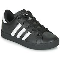 Čevlji  Otroci Nizke superge adidas Originals COAST STAR C Črna / Bela