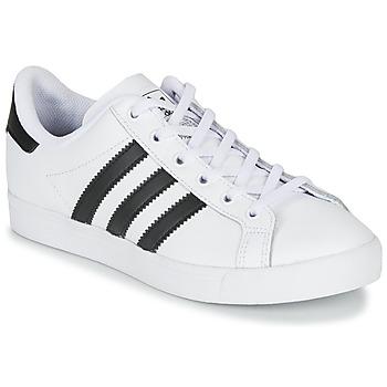 Čevlji  Otroci Nizke superge adidas Originals COAST STAR J Bela / Črna