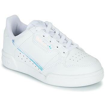 Čevlji  Otroci Nizke superge adidas Originals CONTINENTAL 80 C Bela / Modra