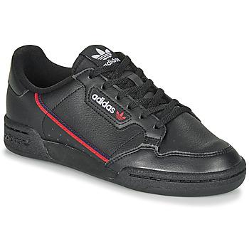 Čevlji  Otroci Nizke superge adidas Originals CONTINENTAL 80 J Črna