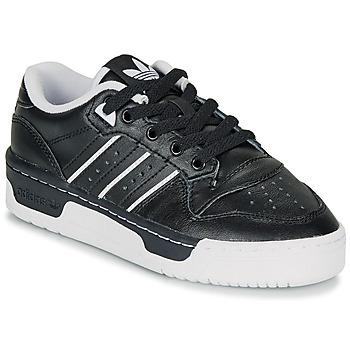 Čevlji  Otroci Nizke superge adidas Originals RIVALRY LOW J Črna