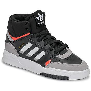 Čevlji  Dečki Visoke superge adidas Originals DROP STEP J Črna / Siva