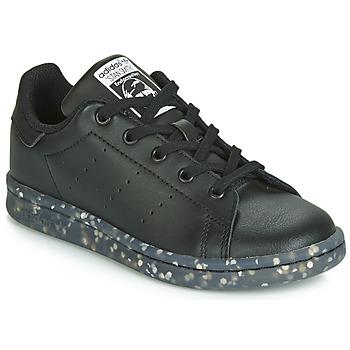 Čevlji  Otroci Nizke superge adidas Originals STAN SMITH C Črna