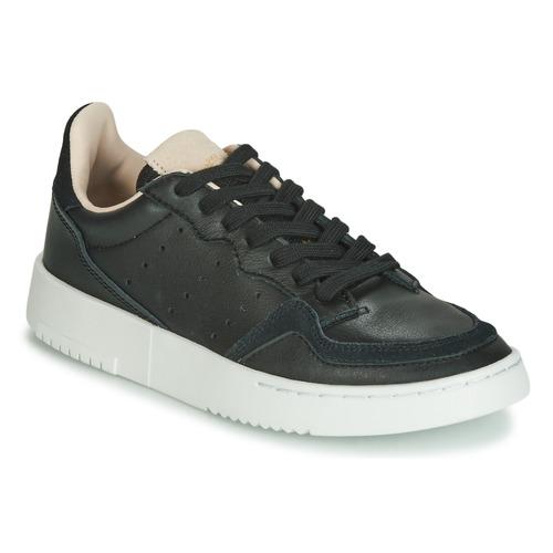 Čevlji  Otroci Nizke superge adidas Originals SUPERCOURT J Črna