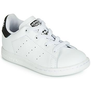 Čevlji  Otroci Nizke superge adidas Originals STAN SMITH EL I Bela / Črna