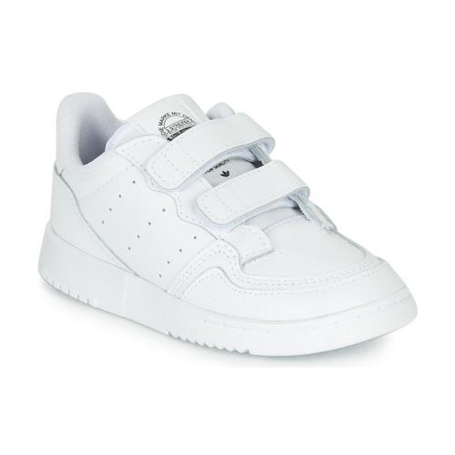 Čevlji  Otroci Nizke superge adidas Originals SUPERCOURT CF I Bela
