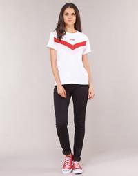 Oblačila Ženske Jeans skinny Levi's 721 HIGH RISE SKINNY Long / Shot