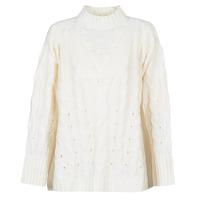 Oblačila Ženske Puloverji Betty London LOYD Kremno bela