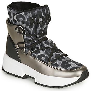 Čevlji  Ženske Škornji za sneg MICHAEL Michael Kors CASSIA BOOTIE Siva