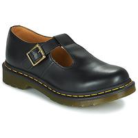 Čevlji  Ženske Čevlji Derby Dr Martens POLLEY Črna