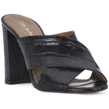 Čevlji  Ženske Natikači Priv Lab NERO KAIMAN Nero