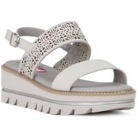 Čevlji  Ženske Sandali & Odprti čevlji CallagHan GREIGE LONG BEACH Grigio