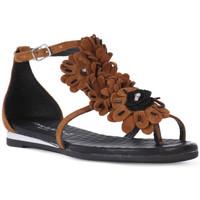 Čevlji  Ženske Sandali & Odprti čevlji Sono Italiana CROSTA CUIO Nero