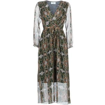 Oblačila Ženske Dolge obleke Betty London LILIE-ROSE Zelena / Večbarvna