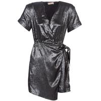 Oblačila Ženske Kratke obleke Moony Mood LIVINE Srebrna