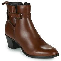 Čevlji  Ženske Gležnjarji Betty London LAVANDA Cognac