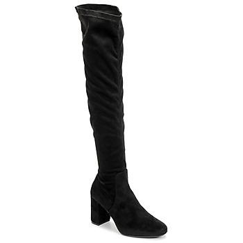 Čevlji  Ženske Visoki škornji Betty London LAHNA Črna