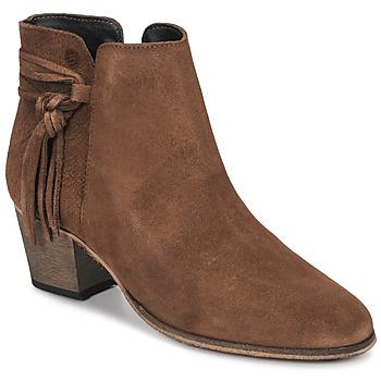 Čevlji  Ženske Gležnjarji Betty London HEIDI Cognac