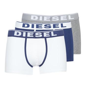 Spodnje perilo Moški Boksarice Diesel DAMIEN Bela / Siva