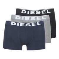 Spodnje perilo Moški Boksarice Diesel DAMIEN Siva / Črna