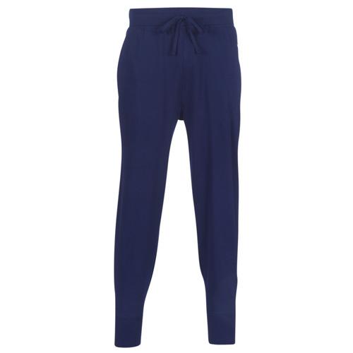 Oblačila Moški Spodnji deli trenirke  Polo Ralph Lauren JOGGER-PANT-SLEEP BOTTOM Modra