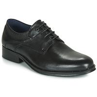 Čevlji  Moški Čevlji Derby Carlington LUCIEN Črna