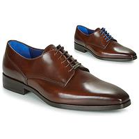 Čevlji  Moški Čevlji Derby Azzaro POIVRE Kostanjeva