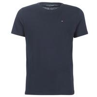 Oblačila Moški Majice s kratkimi rokavi Tommy Hilfiger COTTON ICON SLEEPWEAR-2S87904671 Modra