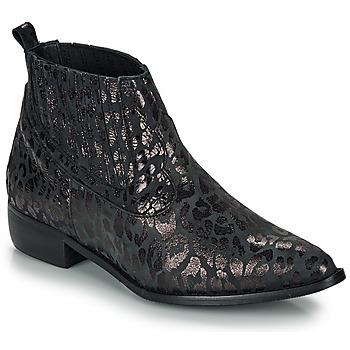 Čevlji  Ženske Polškornji Ippon Vintage GILL ARTY Črna