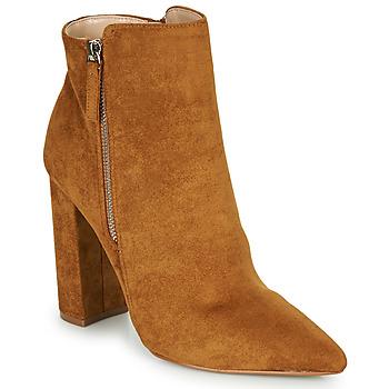 Čevlji  Ženske Gležnjarji Buffalo FERMIN Cognac