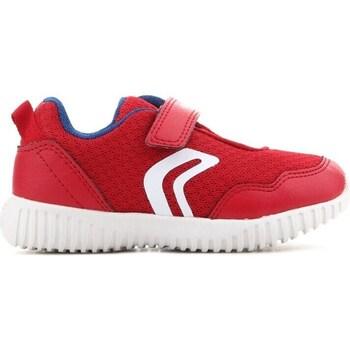 Čevlji  Otroci Nizke superge Geox B Waviness Rdeča