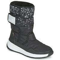 Čevlji  Ženske Škornji za sneg Kangaroos K-FLUFF RTX Črna / Siva