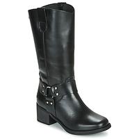 Čevlji  Ženske Mestni škornji    Musse & Cloud AUSTIN Črna