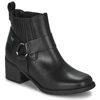 Čevlji  Ženske Gležnjarji Musse & Cloud ARLING Črna