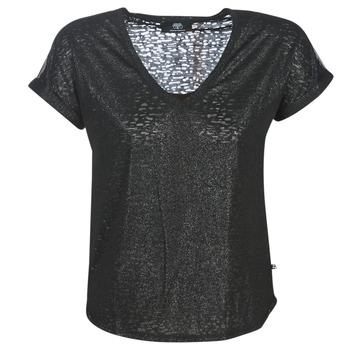 Oblačila Ženske Majice s kratkimi rokavi Le Temps des Cerises OKINAWA Črna
