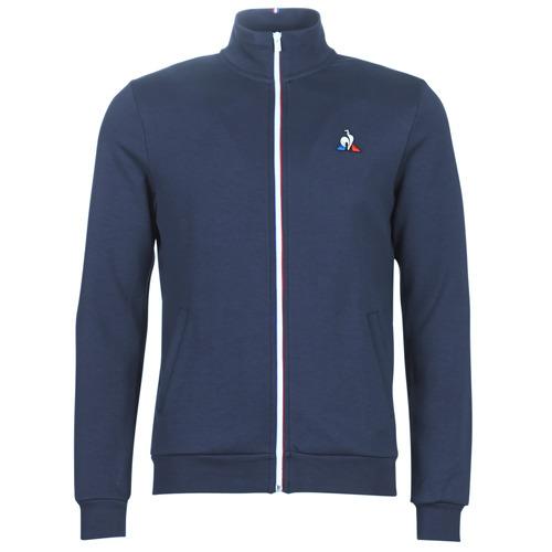 Oblačila Moški Športne jope in jakne Le Coq Sportif ESS FZ SWEAT N°2 M Modra