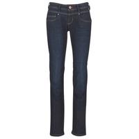 Oblačila Ženske Jeans straight Freeman T.Porter CATHYA SDM Modra / Brut
