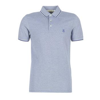 Oblačila Moški Polo majice kratki rokavi Selected SLHTWIST Modra