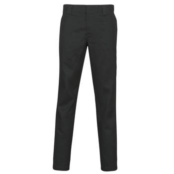 Oblačila Moški Hlače s 5 žepi Dickies SLIM FIT WORK PNT Črna