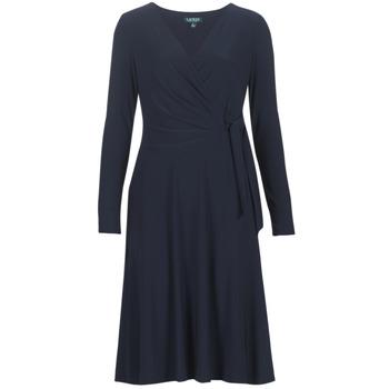 Oblačila Ženske Dolge obleke Lauren Ralph Lauren COREEN Modra