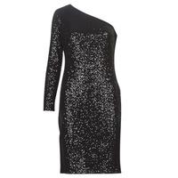 Oblačila Ženske Kratke obleke Lauren Ralph Lauren MARRI Črna