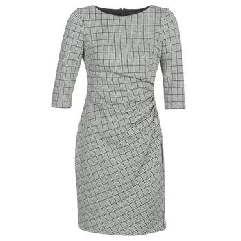 Oblačila Ženske Kratke obleke Lauren Ralph Lauren CIERRA Siva