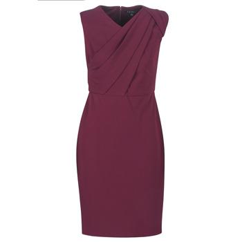 Oblačila Ženske Dolge obleke Lauren Ralph Lauren RUBY SLEEVELESS DAY DRESS Bordo