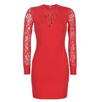 Oblačila Ženske Kratke obleke Moony Mood LICE Rdeča