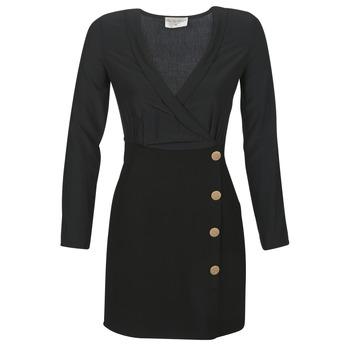 Oblačila Ženske Kratke obleke Moony Mood LUCE Črna
